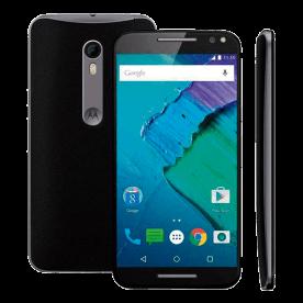 "Smartphone Motorola X Style XT1572 - Preto - 32Gb - 4G - Dual-Chip - 21MP - Tela 5.7"" - Android 5.1"