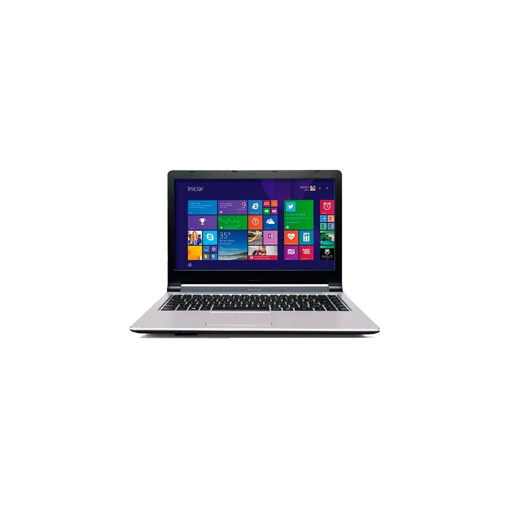 "Notebook Positivo Stilo XR2998 - Intel Celeron - RAM 2GB - HD 320GB - Tela 14"" - Windows 8.1"