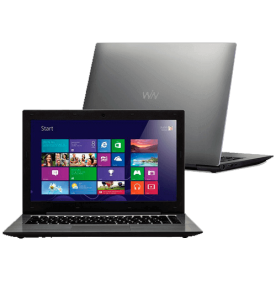 "Notebook CCE Ultra Thin S23B - Intel Dual Core Celeron 847 - HD 320GB - RAM 2GB - LED 13.3"" - Windows 8"