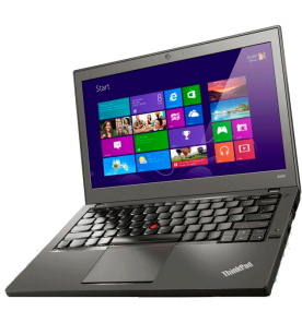 "Notebook Lenovo X240-20AM00A1BR com a 4ª geração do processador Intel Core i5-4300U, memória RAM de 8GB, HD de 1TB, placa de vídeo Intel HD Graphics, tela LED de 12.5"" e sistema operacional Windows 8."