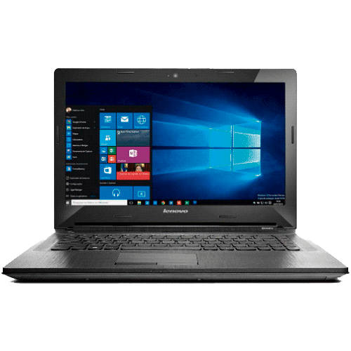 "Notebook Lenovo G40-80-80JE000GBR - Intel Core i5-5200U - RAM 8GB - HD 1TB - LED 14"" - Windows 10 - Prata"