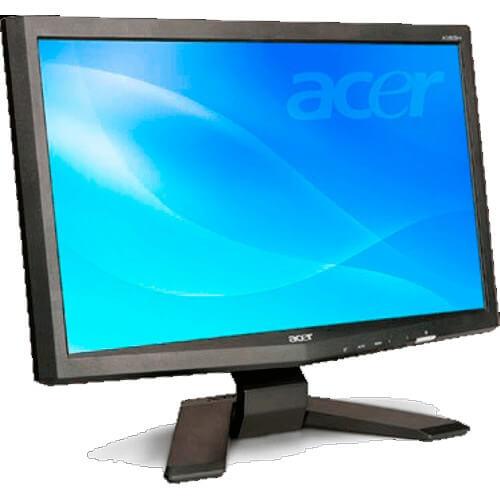 Monitor Acer X183H LCD 18 5'' Widescreen 1366x768 Brilho 250 cd/m2