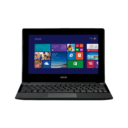 "Notebook Asus X102BA-DF041H - AMD Dual Core A4-1200 - RAM 2GB - HD 320GB - LED 10.1"" - Touchscreen - Windows 8"