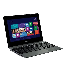 "Notebook Asus X102BA-DF041H - AMD Dual Core A4-1200 - RAM 2GB - HD 320GB - LED 10.1"" - Touchscreen - Windows 8"