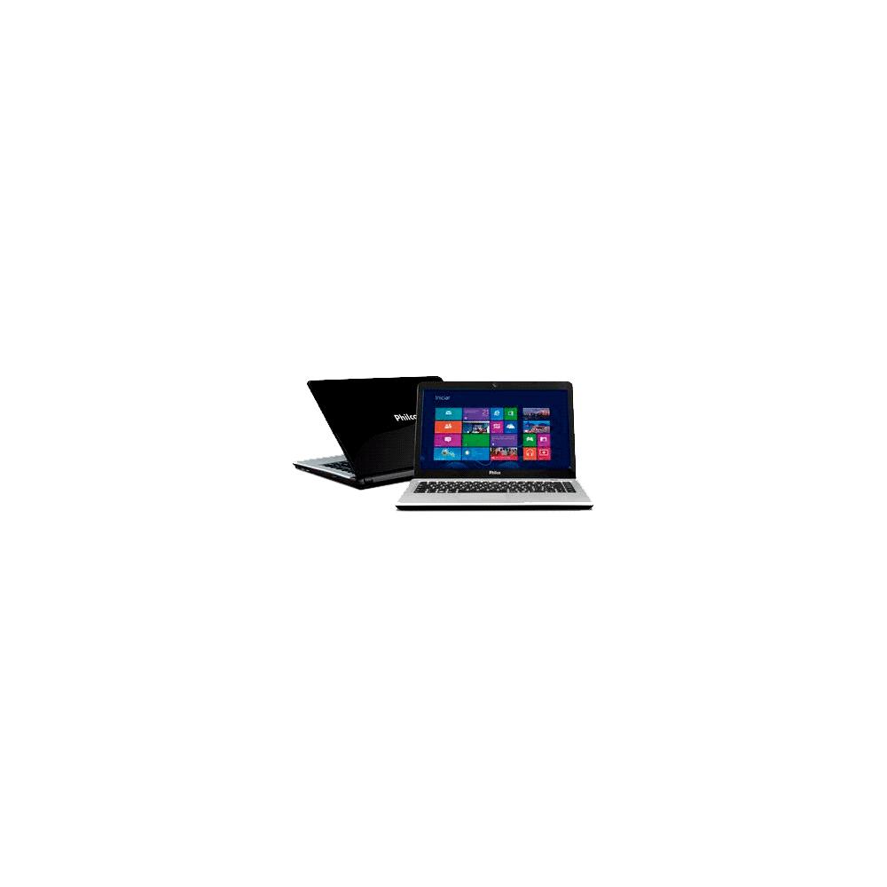 "Notebook Philco Slimbook 14I-P724W8 - AMD Dual Core C-60 - RAM 2GB - HD 500GB - Tela LED 14"" - Windows 8"