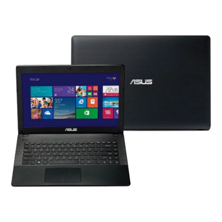 "Notebook Asus PU401LA-WO073P Preto - Intel Core i3- RAM 6GB - HD 500GB - LED 14"" - Windows 8"