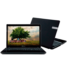 Notebook Gateway Acer NE56R07B Intel Core i3 - 15,6'' - RAM 2GB - HD 500GB Windows 7 Home Basic
