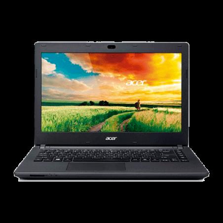 """Notebook Acer ES1-411-P5M3 - Intel Pentium N3540 Quad Core - RAM 4GB - HD 500GB - tela LED 14"""" - Windows 8.1 - Preto"""