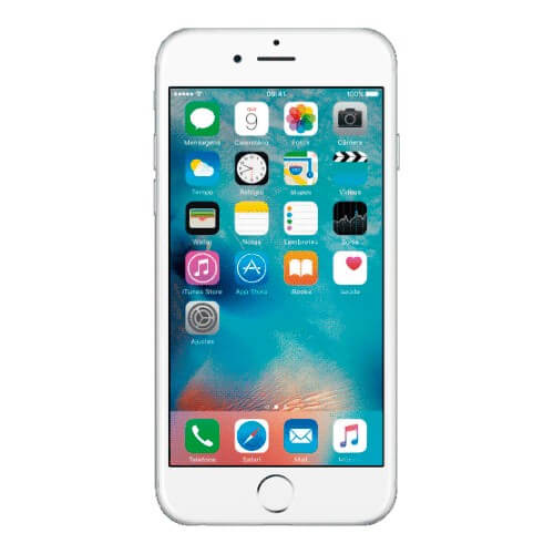 "iPhone 6 16GB Apple Prata - 4G LTE - Wi-Fi - GPS - Câmera de 8MP - Touch ID - 4.7"" - iOS 8"