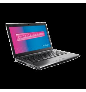 "Notebook CCE IRON-525B PRETO - Intel Core i5-2410M - RAM 2GB - HD 500GB - Tela LED 14"" - Windows 7 home basic"