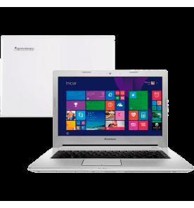 "Notebook Lenovo Z407080E60006BR Prata - Intel Core i7-4500U - HD 1 TB - RAM 16GB - NVIDIA GeForce 820M - Tela 14"" - Windows 8.1"