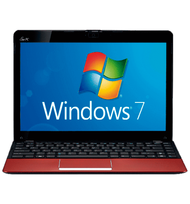 "Netbook Asus 1215B-RED013S - AMD® Fusion C-50 - RAM 2GB - HD 500GB - LED 12.1"" - Windows 7 Starter"