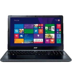 "Notebook Acer E5-571-56R0 - Intel Core i5-4210U - RAM 6GB - HD 500GB - LED 15.6"" - BLACK - Windows 8.1"