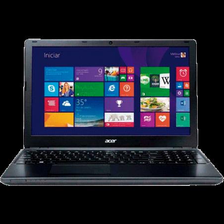 "Notebook Acer E5-571-56R0 - Intel Core i5-4210U - RAM 6GB - HD 500GB - LED 15.6"" - BLACK - Windows 8.1"