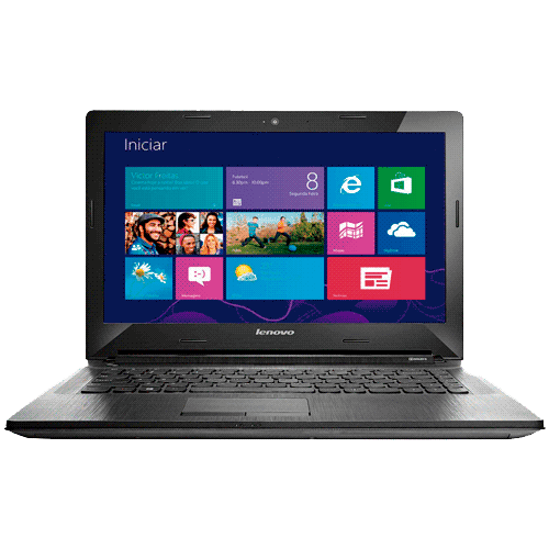 "Notebook Lenovo G40-80GA000HBR - RAM 4GB - Intel Core i3-4005U - HD 500GB - LED 14"" - Windows 8.1 - Prata"