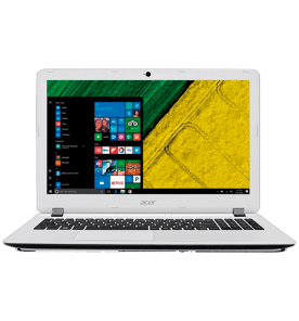 "Notebook Acer ES1-572-347R - Branco - Intel-Core i3-6006U - RAM 4GB - HD 500GB - Tela 15.6"" - Windows 10"