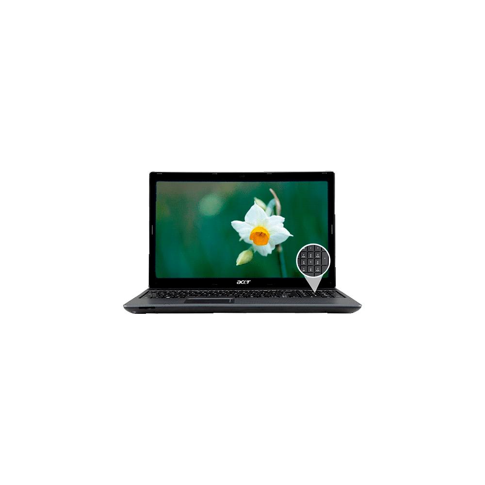 Notebook Acer AS5733-6668 Intel Core i3-380M - RAM 2GB - HD 320GB - 15.6'' Windows 7 Home Basic