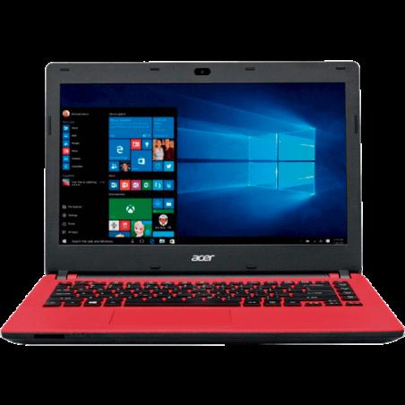 "Notebook Acer ES1-431-C3W6 Vermelho - Dual Core - RAM 2GB - SSD 32GB - LED 14"" - Windows 10"