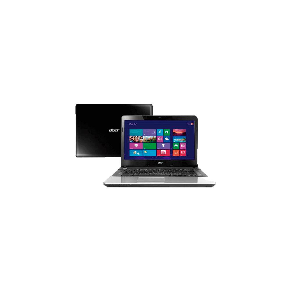 "Notebook Acer E1-471-6404 Intel Core i3-2348M - RAM 2GB - HD 500GB - LED 14"" - Windows 8"