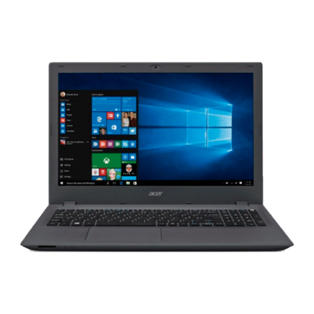 "Notebook Acer E5-573-54ZV - Intel Core i5-5200U - RAM 8GB - HD 1TB - LED 15.6"" - Windows 10"