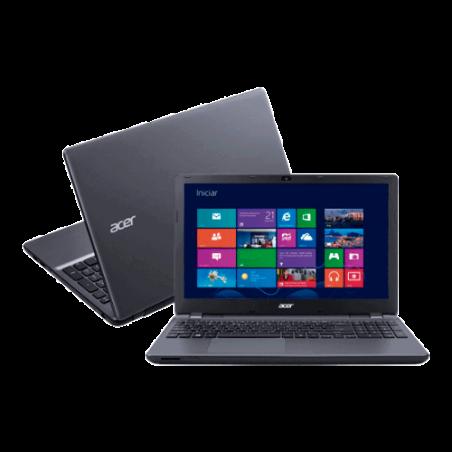 "Notebook Acer Aspire E5-571G-760Q - Intel Core i7-5500U - GeForce 820M - RAM 8GB - HD 1TB - LED 15.6"" - Windows 8.1"