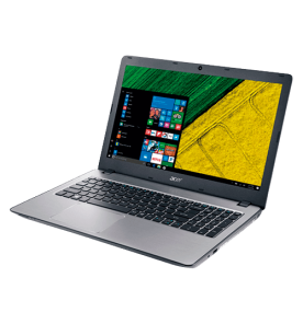 "Notebook Acer Aspire F5-573-51LJ - Prata - Intel Core i5-7200U - RAM 8GB - HD 1TB - LED 15.6"" - Windows 10"