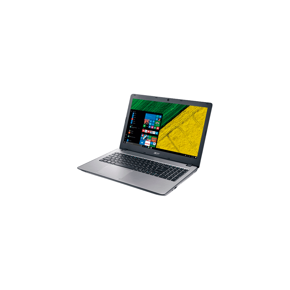 "Notebook Acer Aspire F5-573-51LJ - Prata - Intel Core i5-7200U - RAM 8GB - HD 1TB - LED 15.6"" - Windows 10"