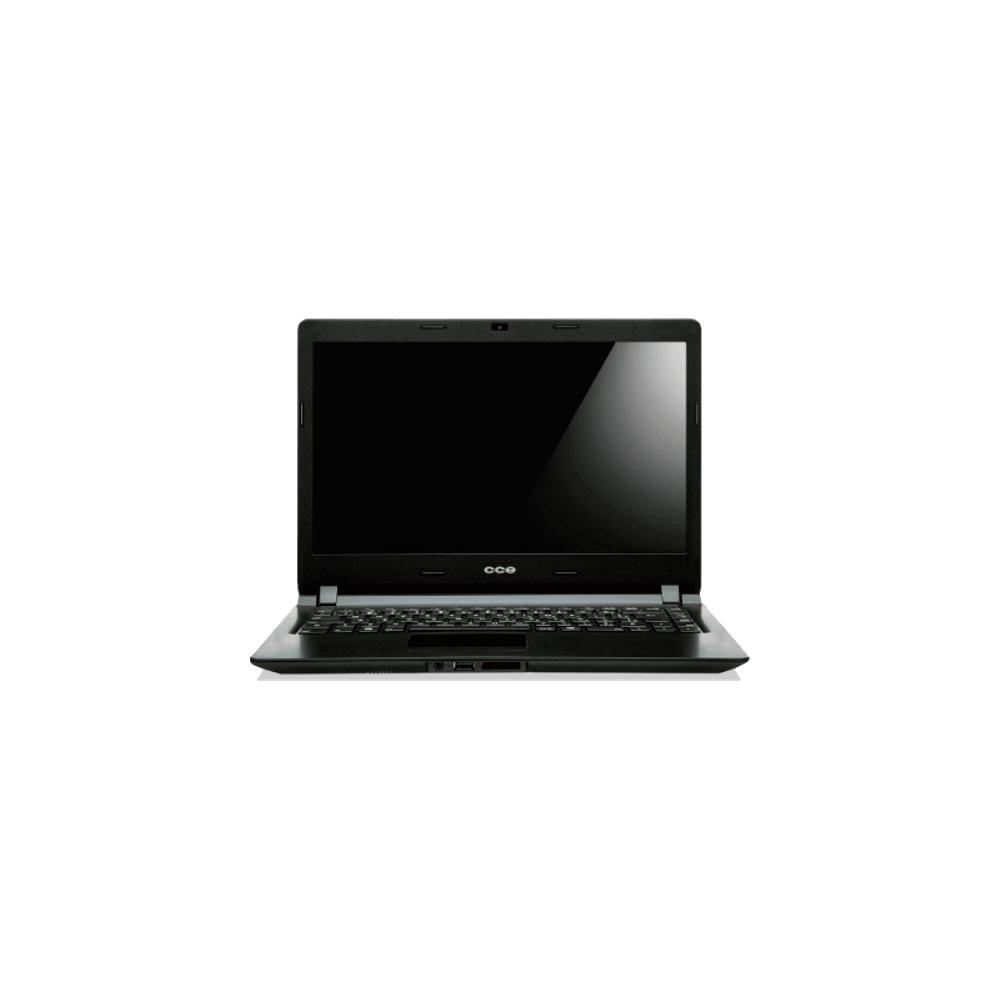 "Notebook CCE Ultra Thin U25L - HD 500GB - RAM 2GB - Intel Dual Core Celeron 847 - LED 14"" - Linux"