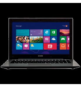 Notebook CCE Ultra Thin S43 - Intel Celeron 847 - HD 320GB - RAM 4GB - LED 13.3 - Windows 8