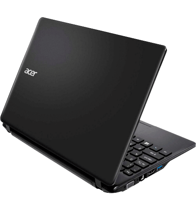 Notebook Acer V5-123-3824 - AMD E1-2100 - RAM 2GB - HD 320GB - LED 11.6'' - Windows 8.1