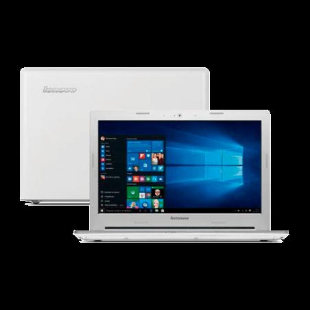 "Notebook Lenovo Z40-70-80E6000DBR Branco Intel Core i7-4500U - RAM 16GB - HD 1TB - Tela 14"" - Windows 10"