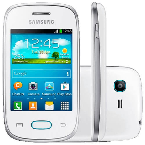 Smartphone Samsung Pocket Neo Duos GT-S5312 - Dual Chip - Wi-Fi - 3G - 2MP - Android 4.1