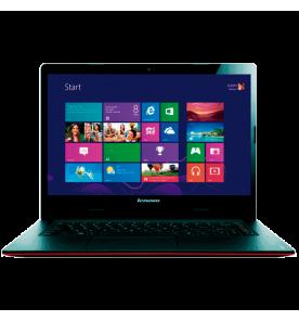 "Notebook Lenovo Book S400U - Intel Core i3-3217 - RAM 4 GB - HD 500GB - Vermelho - Tela 14"" - Windows 8"