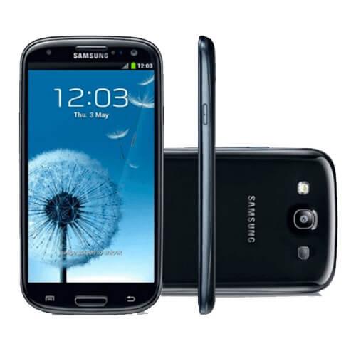 "Smartphone Samsung Galaxy S3 Preto - 16GB - 4.8"" - 8MP - 3G - Android 4.0 - Desbloqueado"