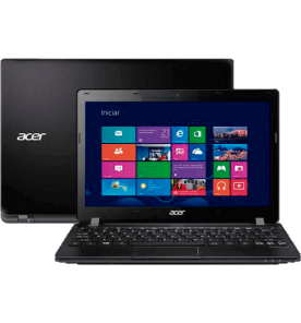 "Notebook Acer V5-123-3728 - AMD E1 2100 - RAM 2GB - HD 320GB - LED 11.6"" - Windows 8"
