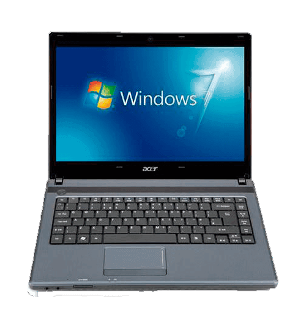 "Notebook Acer AS4739Z-4671 Intel PDC P6200 - RAM 2GB - HD 500GB - Tela 14"" - Windows 7 Starter"