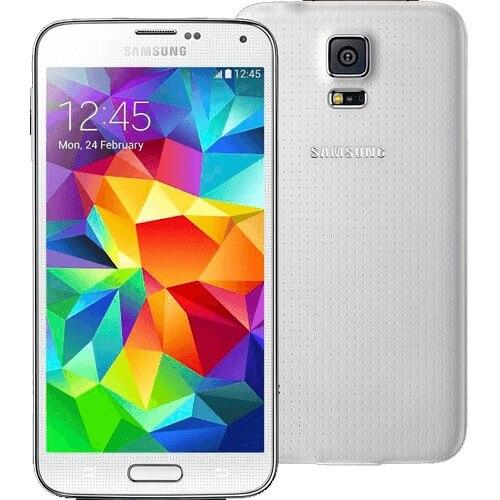 "Smartphone Samsung Galaxy S5 Branco - 4G - RAM 2GB - 32GB - 16MP - Android 4.4 - Quad-Core - Tela 5.1"" - Desbloqueado"