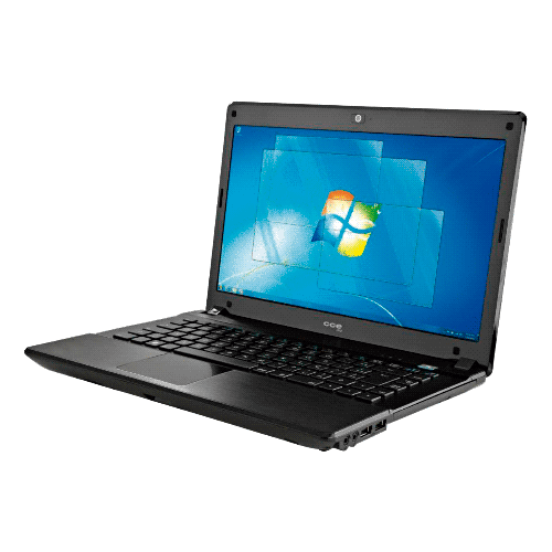 "Notebook CCE M300S - Dual Core - HD 320GB - RAM 2GB - LED 14"" - Windows 7 Starter"