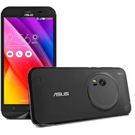 "Smartphone Asus Zenfone Zoom ZX551ML 1A091BR - Intel Z3580 2.3Ghz - Android 5.0 - Tela Full HD 5.5"" - 64GB - 13MP - 4G - Preto"