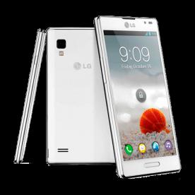 """Smartphone LG Optimus L9 P768 Branco - 8MP - 4GB - Desbloqueado - Tela 4.7"""" - Android 4.0"""