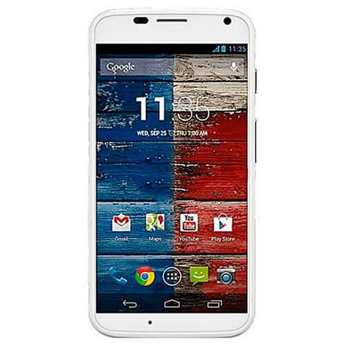 "Smartphone Motorola Moto X XT1056 Branco - 10.5MP - 16GB - Desbloqueado - Tela 4.7"" - Android 4.2"