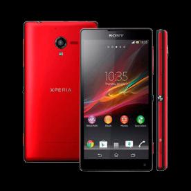 "Smartphone Sony Xperia ZQ Vermelho - 16GB - 13MP - Tela 5"" - Android 5.1"