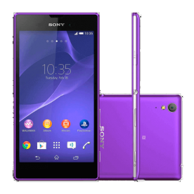"Smartphone Sony Xperia T3 D5102 Roxo - 8MP - 8GB - Desbloqueado - Tela 5.3"" - Android 4.4"