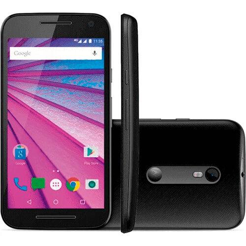 Smartphone Moto G3 XT1543 - 3° Geração - 4G – Dual Chip - Motorola – 16GB - Preto