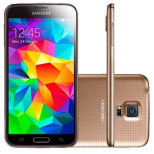 "Smartphone LG G3 D855 Dourado - 16GB - 4G LTE - Quad Core 2.45GHz - Tela de 5.5"" - 13MP - Android 4.4"