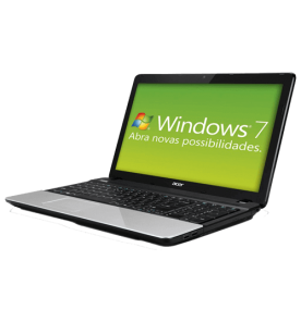 "Notebook Acer E1-531-2606 - Dual Core CMB820 - Ram 2GB - HD 320GB - Tela 15.6"" - Windows 7 Starter"