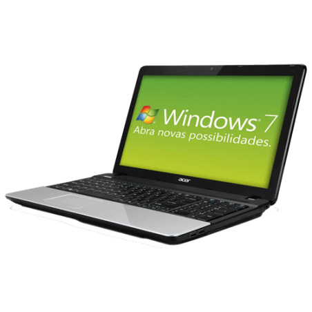 "Notebook Acer E1-531-2606 - Dual Core CMB820 - Ram 2GB - HD 320GB - Tela 15.6"" - Windows 7 Starter"