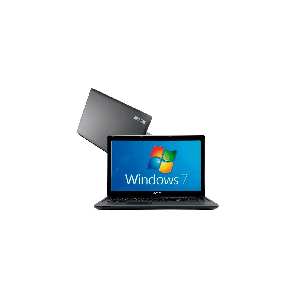 Notebook Acer AS5733-6692 Intel Core i3 - RAM 2GB - HD 500GB - 15.6'' Windows 7 Home Basic