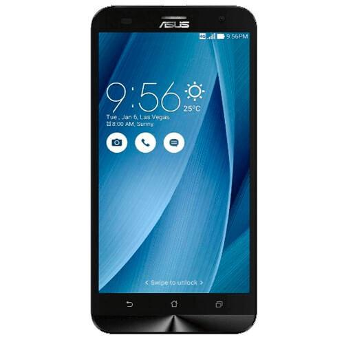 "Smartphone ZenFone 2 Laser Asus ZE550KL-6J152WW - Dual SIM - 16GB - 4G LTE - Tela 5.5"" - 13MP - Android 5.0 - Prata"