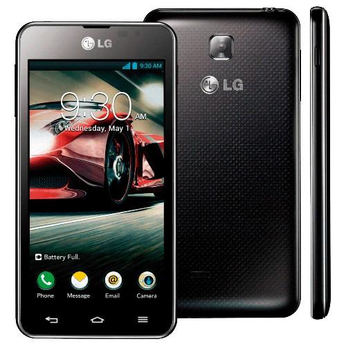 """Smartphone LG Optimus F5 P875 Preto - 4G LTE - 8GB - Wi-Fi - Tela de 4.3"""" - 5MP - Android 4.1 Jelly Bean - Desbloqueado"""